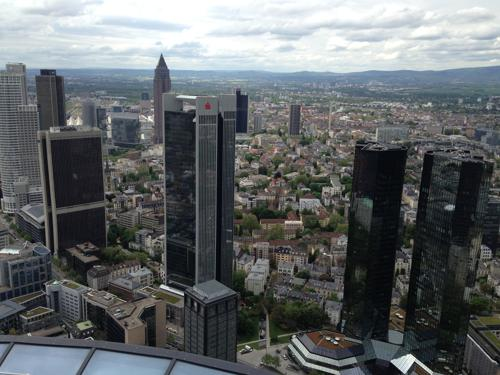 Skyscrappers in Frankfurt on the Main